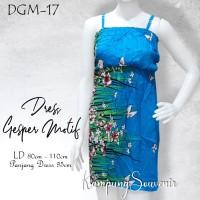 DRESS GESPER MOTIF DGM-17 BEST KAMPUNG SOUVENIR