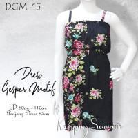 DRESS GESPER MOTIF DGM-15 BEST KAMPUNG SOUVENIR