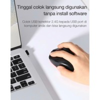 Mouse Wireless Optical ROBOT M310 USB 2.4 GHz / Mos / Original