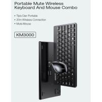 WIRELESS Keyboard & Mouse Robot KM3000 Original / Keybord / Mos
