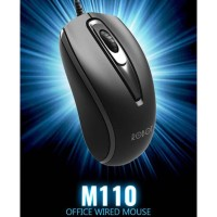 Mouse Wired Robot M110 Original / Mos / Office / Kantor / Minimalis