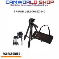 TRIPOD VELBON EX-540 FREE TAS TRIPOD