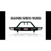 BUMPER RHINO GUARD TOYOTA HILUX DOUBLE CABIN WITH DRL SUPER QUALITY
