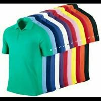 Kaos/Polo shirt/Tshirt Kaos Kerah Nike Logo Club Sport