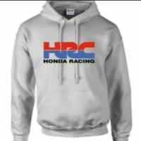 Hoodie Swester Baju Hangat Zipper Honda HRC Racing