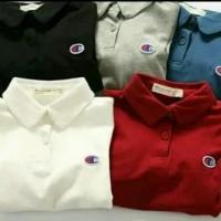 Kaos/Polo shirt/Tshirt Kaos Kerah Champions Logo Club Sport
