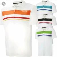 Kaos/Polo shirt/Tshirt Kaos Kerah Adidas Stripes Logo Club Sport