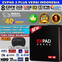 EVPAD 3PLUS INDONESIA 2G/32G 8CORE 6K 2.4/5GHZ WIFI