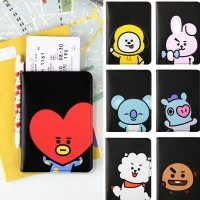 passport cover BT21 animation / dompet passport