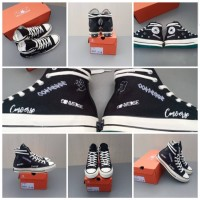 Sepatu Converse 1970S Wordmark Black White