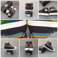 Sepatu Converse CTAS HI Rainbow New