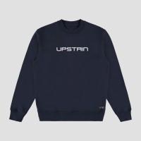 Sweater Glow In The Dark Terbaru Merek Upstain Wear Warna Navy