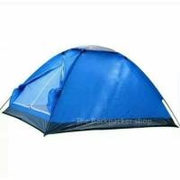 Tenda kemping dome fox hunter kapasitas 4 orang single layer