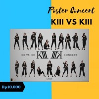 Poster KIII vs KIII Concert 2020