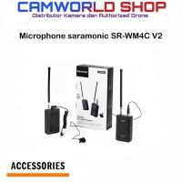 Microphone saramonic SR-WM4C V2 for kamera DSLR-Mirorless-Gopro DLL