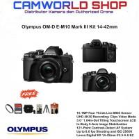 Olympus OM-D-E M10 Mark III Kit 14-42mm OMD Mark III - FULL ACC