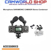 Microphone SARAMONIC CAMIXER Stereo Condensor for Camera DSLR-Mirorles