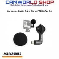 Saramonic GoMic G-Mic Stereo Ball Microphone GoPro Camera