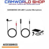 SARAMONIC SR-LMX1 Lavalier Microphone For Smartphone-Mobile Device