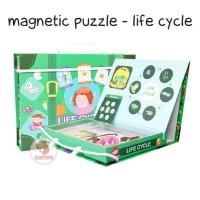 Zoetoys Magnetic Puzzle - Life Cycle | mainan edukasi | mainan anak