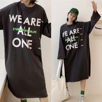 Damai fashion jakarta - long dress JUMBO wanita WE ARE ALL ONE