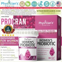 Probiotic & Prebiotic Physician Choice For Women / Probiotik 30 Cap