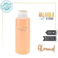 Botol Minum Plastik PET 250 ml Almond Jus Susu Jamu