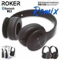Headset Roker Remix Bluetooth Earphone Bando Roker Wireless