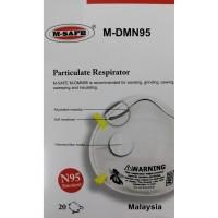 Masker N95 Particulate Respirator | M-Safe