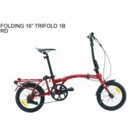 Sepeda lipat 16,inch United Trifold 1B -1sp Terbaru!!