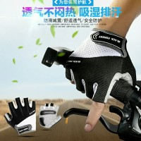 Sarung Tangan Sepeda Half Finger Sz L Anti Slip