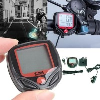 Speedometer Sepeda Odometer Jam Waterproof Anti Air
