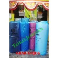 Bubble Wrap Warna Hitam / Biru / Merah / PUTIH-BENING buble wrap