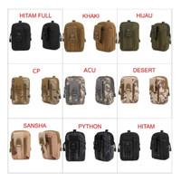Tas Pinggang Militer // Waist Tactical Acc // Bag HP Army Edition