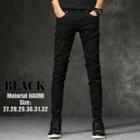 Celana jeans sekiny/celana jeans Naomi hitam-28