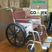 kursi roda alumunium secon,seken,bekas,ekonomis