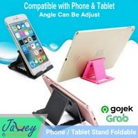 Dudukan Stand Holder HandPhone iPad Tablet HP Tatakan Fold Standing HP