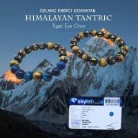 Gelang Energi Kesehatan Himalayan Tantric Tiger Eye Onyx Stone (GCS48)