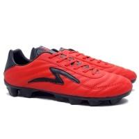 Specs Roma FG (Sepatu Bola) - Emperor Red/Black