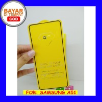 Samsung Galaxy A51 - Full Cover Tempered Glass 9D Screen Protector