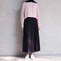 damai fashion jakarta - Rok Plisket / Maxi Skirt Prisket Pleates - kon