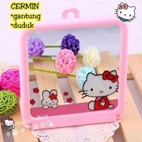 cermin gantung hello kitty