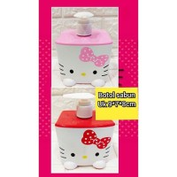 botol pump hello kitty