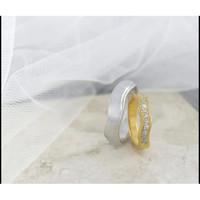 sepasang cincin kawin cantik terlaris