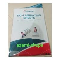 kertas id card laminating A4 white putih digital photo sheets set pvc