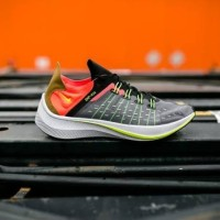 Nike exp x14 dark grey total crimson