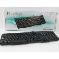 Keyboard Logitech K100 PS2 Original Garansi 1 Tahun