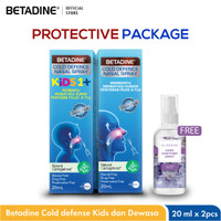 BETADINE® Cold Defence Nasal Spray Adult and Kids