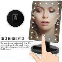 Cermin MakeUp dengan Lampu LED TouchScreen MakeUp Mirror 22 LED Light