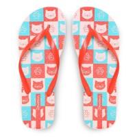 Ipanema Ladies Flip Flop & Sandal Wanita - Only Fem Pink/Red/Blue